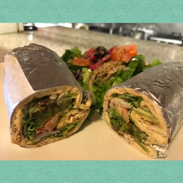 Falafel or Greek Wrap